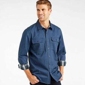 L.L.Bean Flannel-Lined Hurricane Shirt